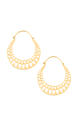 Ailuros Gold Earrings