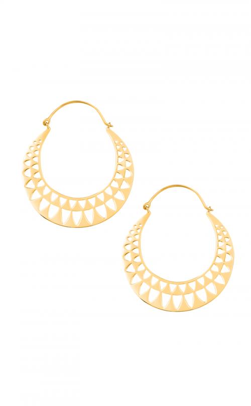 Ailuros Gold Earrings