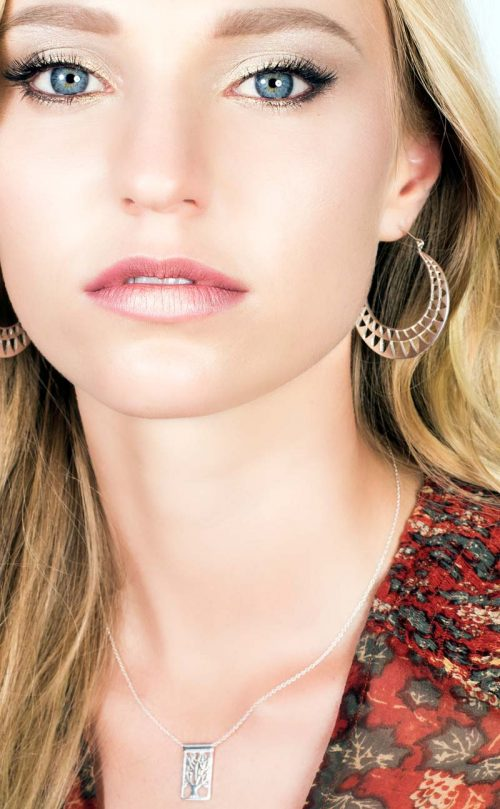 Celeste Necklace Silver