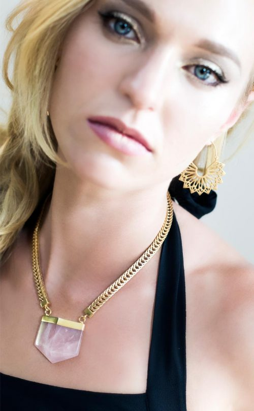 Isis Earrings Gold Plated