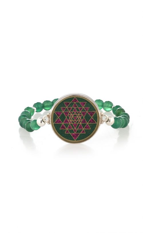 Enlightened Bracelet Green Onyx and Malachite