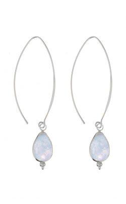 Allure Earrings Aquamarine Silver