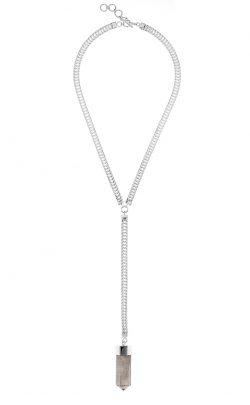 Georgia Necklace Smoky Quartz Silver