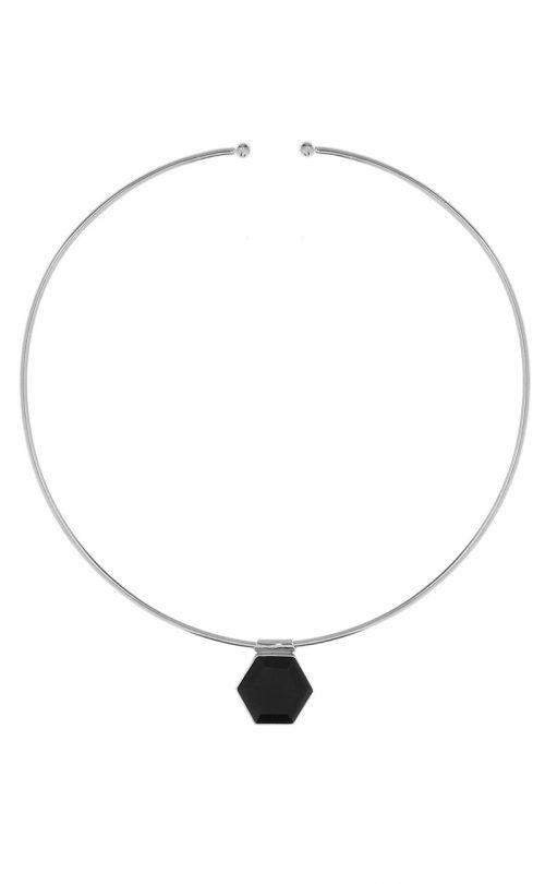 Odyssey Choker Black Onyx Silver