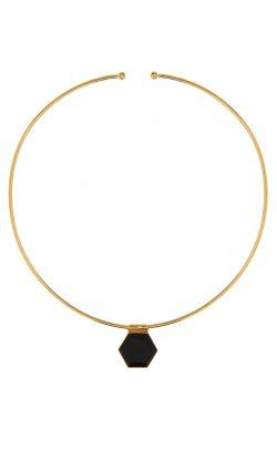 Odyssey Choker Black Onyx Gold