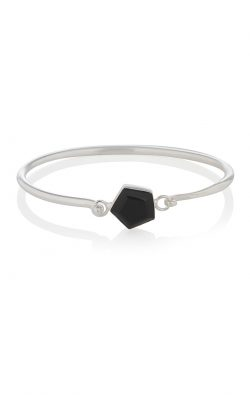Expansion Bracelet Black Onyx Silver