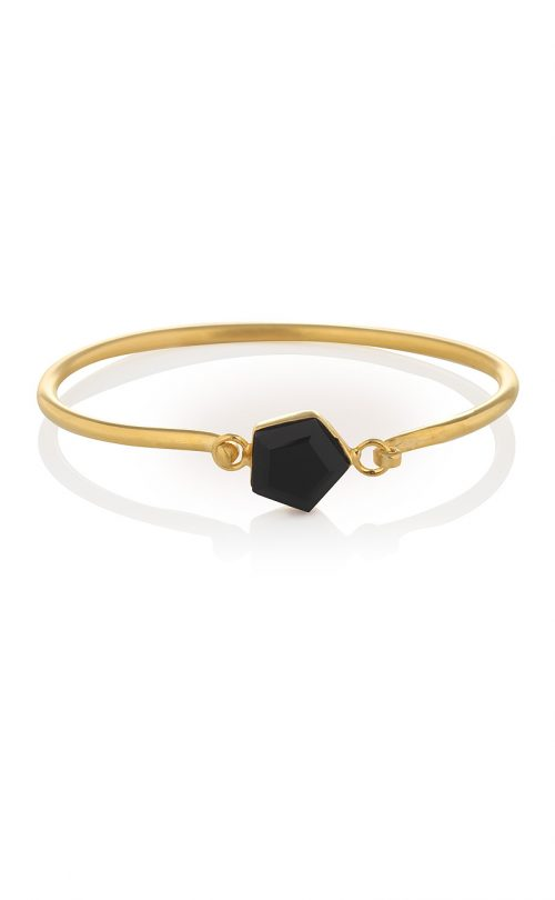 Expansion Bracelet Black Onyx gold
