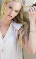 Flow Bracelet Rose Quartz Gold