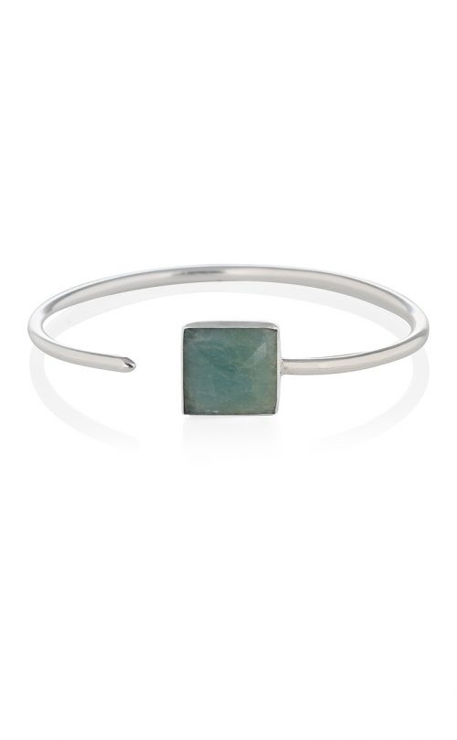 Grace Bracelet Aventurine Silver