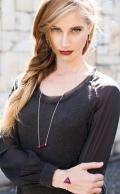 Sophia Bracelet Ruby Silver