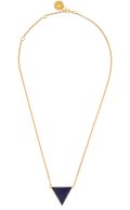 Luminary Necklace Lapis lazuli Gold