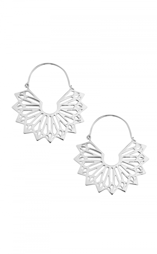 Isis Earrings Silver