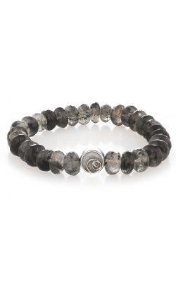 Luna Bracelet Quartz Tourmalated Quartz Silver