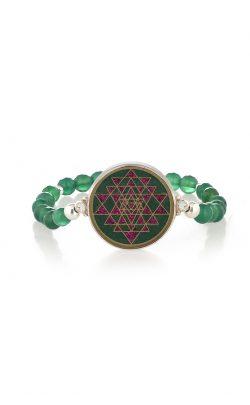 Enlightened Bracelet Green Onyx and Malachite