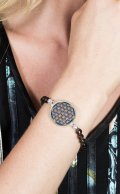 Insprit Bracelet Smoky Quartz and Lapis