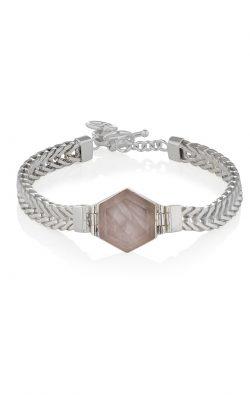 Scarlet Bracelet Rose Quartz Silver