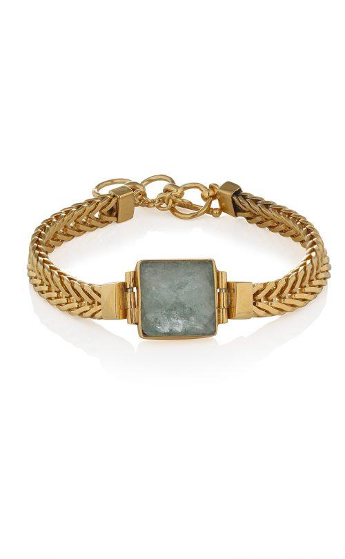 Scarlet Bracelet Aventurine Gold