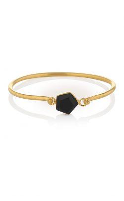Expansion Bracelet Black Onyx gold
