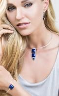 Grace Bracelet Lapis Silver