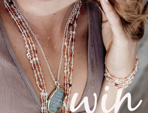 WIN a Crystal Mala Necklace