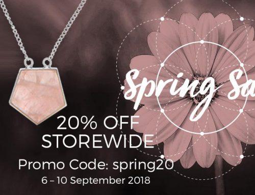 Spring Sale | 20% Off Storewide